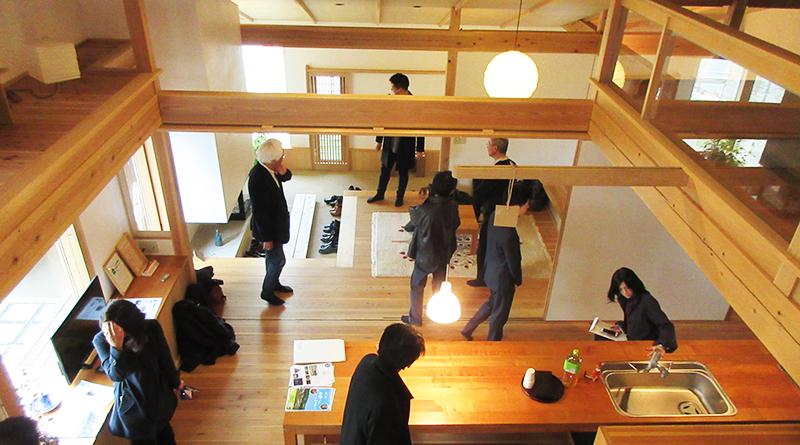 飯能・三協建設の見学ツアー